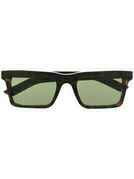 Retrosuperfuture tortoiseshell-effect square sunglasses - Brown