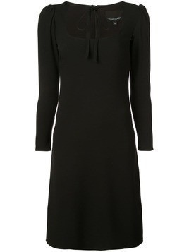 Cynthia Rowley Waverly tie neck dress - Black