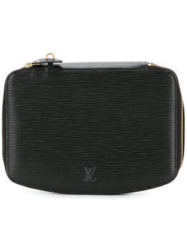 Louis Vuitton Vintage Poche Montecarlo jewellery case - Black