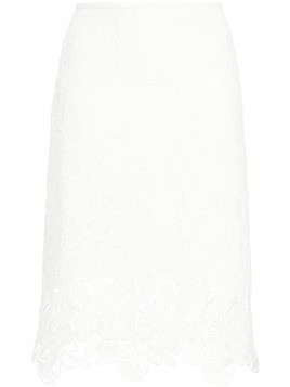 Manning Cartell floral lace skirt - White