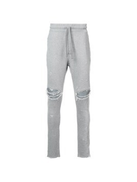 Amiri distressed tracksuit trousers - Grey