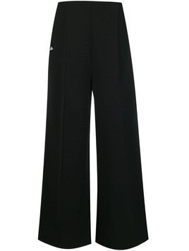 Kappa logo strip track trousers - Black