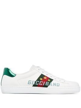 Gucci Ace Gucci Band embroidered sneakers - White