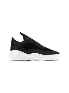 Filling Pieces lace-up sneakers - Black