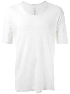 Forme D'expression 'Sutured half sleeve' T-shirt - White