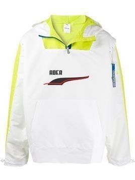 Puma x Ader Error hooded windbreaker - White
