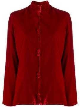 F.R.S For Restless Sleepers mandarin collar shirt - Red