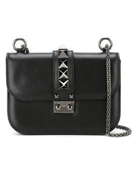 Valentino Valentino Garavani Glam Lock shoulder bag - Black