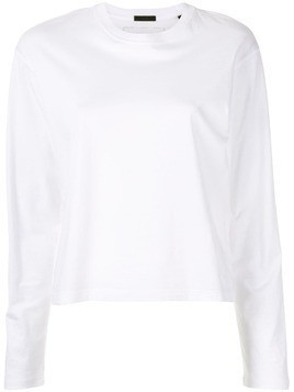 Atm Anthony Thomas Melillo Classic Jersey L/S Boy Tee ATM - White