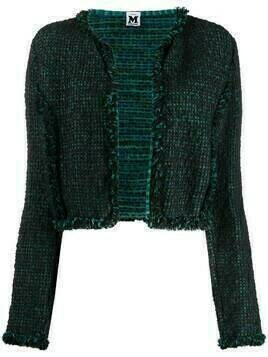 Missoni Pre-Owned 2000s woven short jacket - Blue