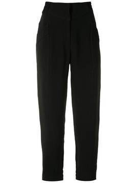 Martha Medeiros Manuela slim trousers - Black