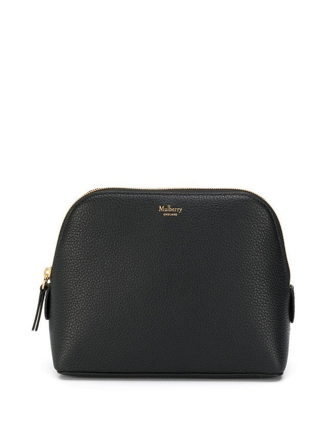 Mulberry Continental Cosmetic Pouch SCG - Black