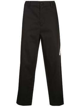 Iise straight-leg trousers - Black
