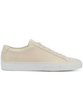 Common Projects - lace-up sneakers - Herren - Leather/rubber - 41 - Nude & Neutrals