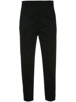 Isabel Marant Étoile contrast side panel trousers - Black