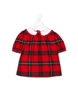 Dolce&Gabbana Kids check blouse - Red