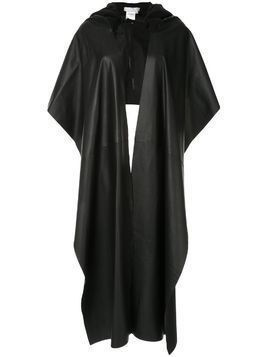 Litkovskaya Huska hooded cape - Black
