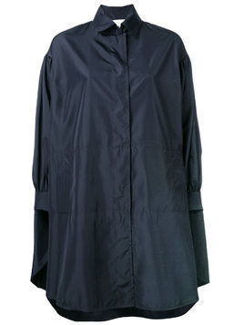 Gianluca Capannolo rain coat - Blue