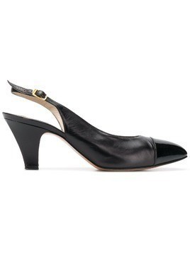Salvatore Ferragamo Pre-Owned 1990's slingback pumps - Black