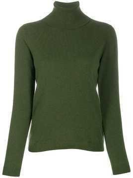 Lamberto Losani roll neck sweater - Green