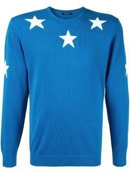 Guild Prime star embroidered sweater - Blue