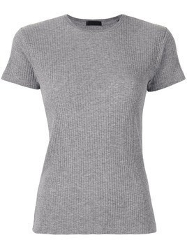 Atm Anthony Thomas Melillo Micromodal WideRibCapSleeveTop ATM - Grey