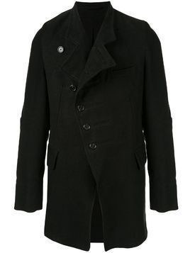 Ann Demeulemeester single-breasted jacket - Black