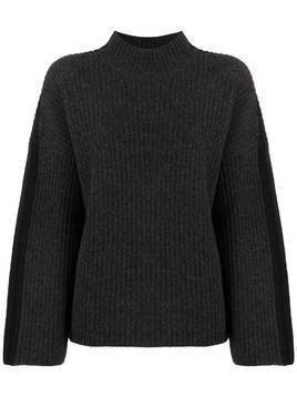 Pringle of Scotland ribbed knit sweater - Grey