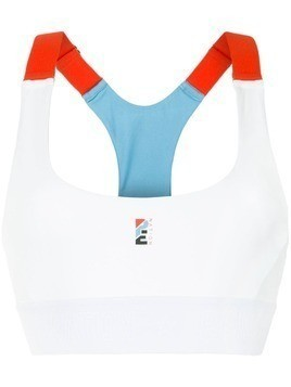 P.E Nation Forecourt sports bra - White