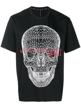 Blackbarrett skull print T-shirt