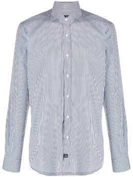 Fay striped formal shirt - Blue