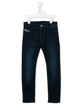 Diesel Kids slim fit jeans - Blue