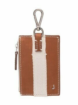 Jacquemus Le Porte Grain keyring wallet - Brown