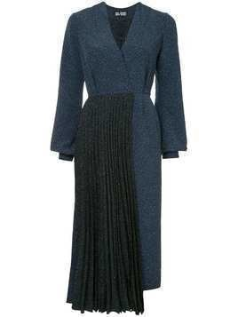 Dalood combined dress - Blue