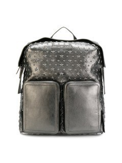 Jimmy Choo Lennox backpack - Metallic