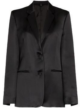 Helmut Lang tuxedo single-breasted jacket - Black