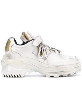 Maison Margiela touch strap sneakers - White