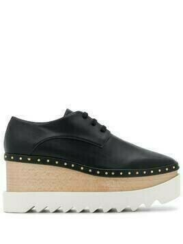Stella McCartney Elyse 80mm platform shoes - Black