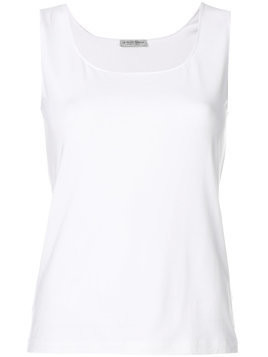 Le Tricot Perugia fitted tank top - White