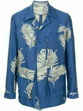 Bed J.W. Ford floral embroidered blazer - Blue