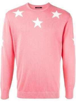 Guild Prime star embroidered sweater - Pink