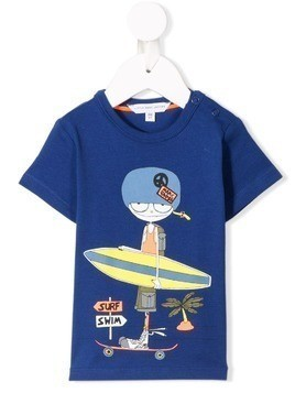 Little Marc Jacobs surfer T-shirt - Blue