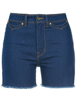 Amapô high waisted denim shorts - Blue