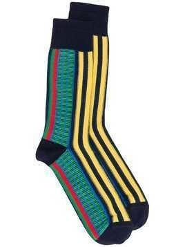 Missoni striped socks - Blue
