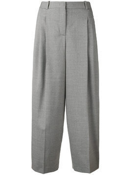 Fabiana Filippi cropped palazzo trousers - Grey