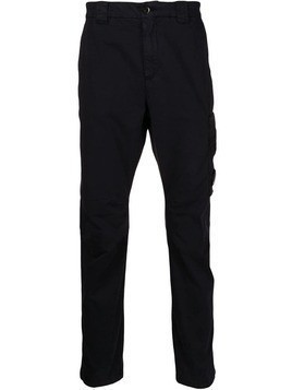 CP Company straight-leg trousers - Blue