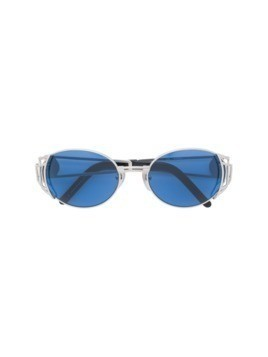 Jean Paul Gaultier Vintage oval shaped sunglasses - Metallic