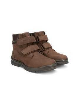 Geox Kids touch strap boots - Brown