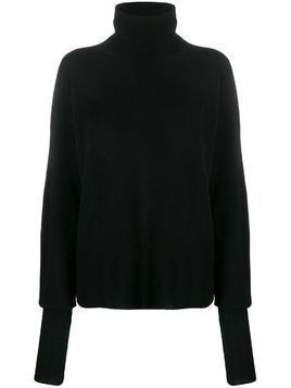 Maison Flaneur cashmere relaxed-fit jumper - Black