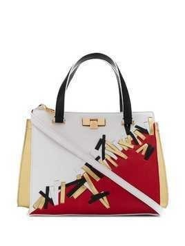Giancarlo Petriglia Diamond tote - White